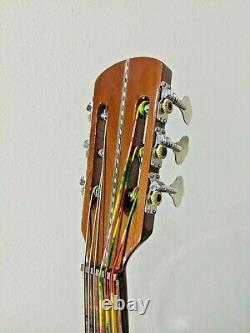 Guitarron de Cedro Hand Made in Paracho Mexico Mariachi Guitarron with Gig Bag