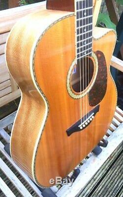 Hand Made Acoustic Guitar By UK Luthier Kevin Parsons