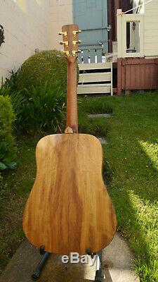 Handmade Dreadnought Acoustic Guitar made in wales