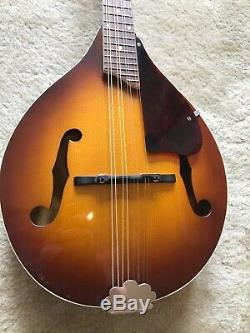 Harmony Mandolin, top of the line! 1970s made in USA, recent setup, OHSC