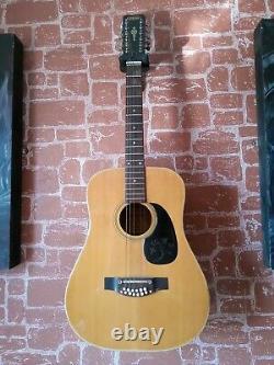 Hokada Natural Finish 12 string guitar Japanese made pre-1975
