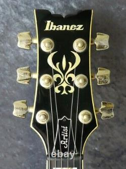 Ibanez AS200 AV -ARTIST- Semi-Acoustic Electric Guitar with HC made in 1987 Japan