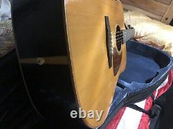 Ibanez AW100 Acoustic Guitar Made In Japan MIJ w Case