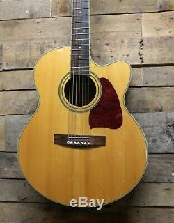 Ibanez ArtWood AJ307ECE Korean Made 7 String Acoustic Guitar with Fishman Pickup