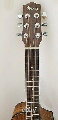 Ibanez EWP14WB Piccolo, Open Pore Natural with hand made padded leather case