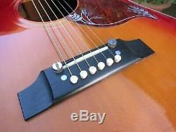 Ibanez made Vintage Hummingbird Acoustic MIJ 1974 Luthier Refurbished