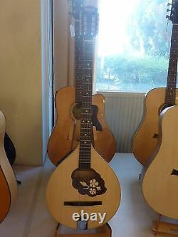 Irish Bouzouki with EQ (built in pick-up), made by Hora, solid wood + soft case