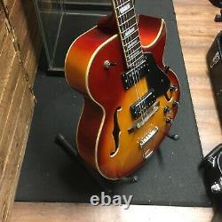 Jazz Electro Acoustic Guitar Hand Made Custom