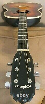 Kaman Ovation Applause Roundback Acoustic Guitar. Aluminum Neck. Made in USA
