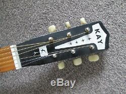 Kay''Note'' acoustic parlour blues guitar USA made early sixties