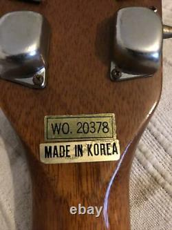 Kent Acoustic Guitar Original 70s / Early 80s Made In Korea. Solid & Top. Etc