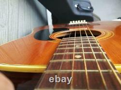 Kiso Suzuki Sonoro W-250 Acoustic Guitar Made in Japan with Hard Case