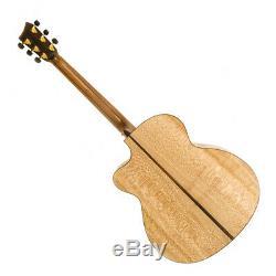 Lakestone JC Fan Fret Adirondack & Lacewood Hand Made In The UK Acoustic Guitar