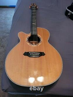 Left Handed Takamine Dolphin Ltd Acoustic guitar- only 7 ever made for a lefty