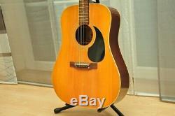 Life H155 Vintage 1972 Flattop Acoustic Guitar made in Japan Gitarre