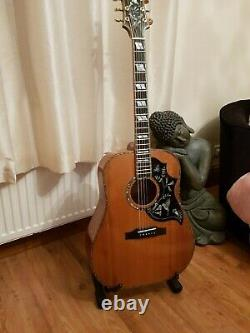 Luthier Custom Hand Made hummingbird Acoustic Guitar made by Russell Bennett