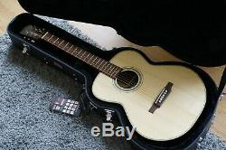 Luthier made acoustic guitar OM style handmade steel string