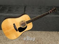 Made By Tokai Hummingbird Custom W400 1975 Great D42 Style Acoustic Guitar
