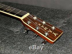 Made In 1972 Yamaki F140 Absolutely Magnificent D45 Style Acoustic Guitar