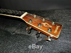 Made In 1975 Yamaki Yw40 Absolutely Magnificent D45 Style Acoustic Guitar