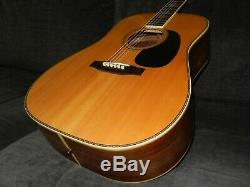 Made In Japan 1975 Yamaki Yw60 Simply Terrific D45 Style Acoustic Guitar