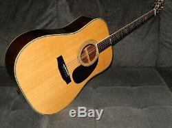 Made In Japan 1979 Morris W50 Absolutely Great D45 Style Acoustic Guitar