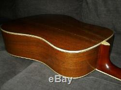 Made In Japan 1979 Morris W80 Absolutely Terrific D45 Style Acoustic Guitar