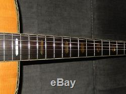Made In Japan 1985 Morris Tf801 Simply Wonderful D45 Style Acoustic Guitar