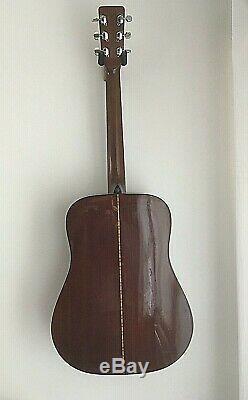(Made by Martin) Sigma DM-5S DM5S Acoustic Guitar (Rare Sunburst) 1970's