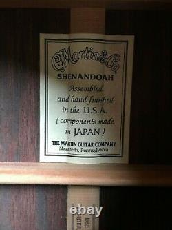 Martin 000-28 Shenandoah. Rare MIJ & USA made in Nazareth circa 1985-1990