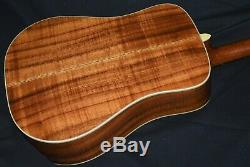 Martin 7-37k Flamed Koa. Made In 1981. 7/8th Size Of Dreadnaught. Vintage