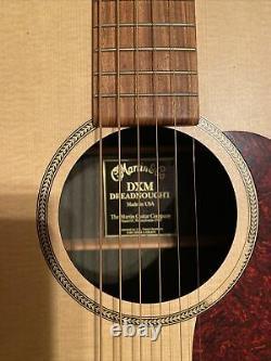 Martin DXM Dreadnought Acoustic Guitar Made In U. S. A. Nazareth Pa