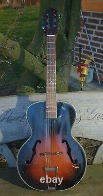 Marvel C Vintage Archtop Guitar by Harmony early 1940s solid spruce top /US made