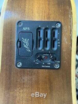 Maton Em325 Electro Acoustic Guitar Made In Australia Ap5 Pickup Steel 6 AP-5