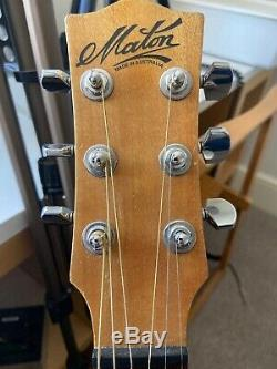 Maton Em325 Electro Acoustic Guitar Made In Australia Ap5 Pickup Steel 6 String
