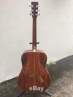 Morris MD-515 6 String Acoustic Guitar Martin-Copy Made in Korea MIK