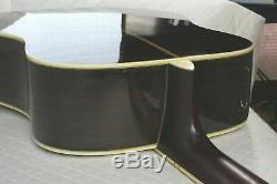 Morris MG-60 Made in Japan Vintage Acoustic Guitar 1970s Sunburst