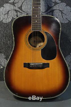 Morris W-35 SBS Made in Japan 1970s Acoustic Guitar