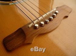 Northworthy Tideswell hand built guitar made by Alan Marshall Derbyshire