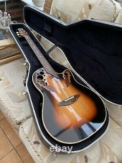 OVATION ELITE ELECTRO ACOUSTIC made in USA Deep Bowl Cash On Pick Up