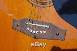 Original Vintage Made In Italy Eko Ranger 6 Acoustic Guitar! Plays Great
