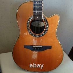 Ovation 6759 Custom Legend USA Made Natural 12 String Acoustic Guitar with Case