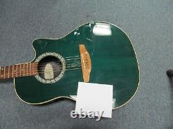 Ovation Model 1861 Standard Balladeer Made In USA Acoustic Electric Guitar