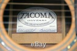 RARE Pre-Fender Tacoma EM 10CE4 Acoustic Guitar, Made in USA, Solid Wood