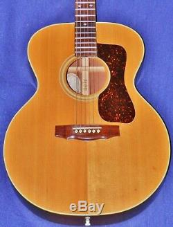 Rare 1984 GUILD F-42NT Acoustic, #46 of 65 Total, USA-Made, VGCon. OHSC