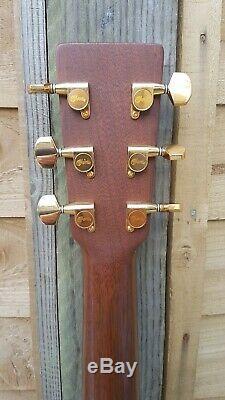 Rare 2002 Martin D17 GT Acoustic Guitar USA Made Solid Mahogany Setup & Serviced