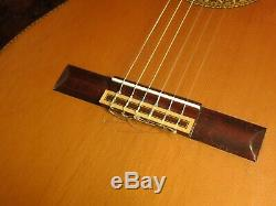 Rare Old Vintage Quality Japanese Made Classical Acoustic Guitar c. 1974