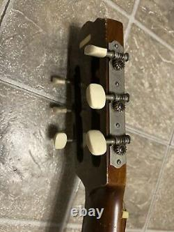 Rare Vintage Suzuki no. 701 acoustic Guitar Made In Japan