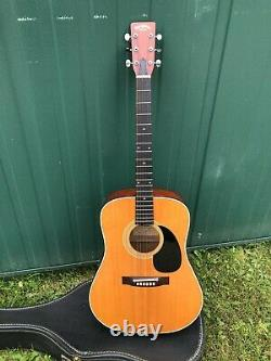 SIGMA MARTIN DM3 ACOUSTIC GUITAR- EARLY S. KOREA MADE WithCASE-NICE