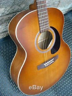 Seagull Entourage Rustic Mini Jumbo Guitar, Easy Play made, rare guitar